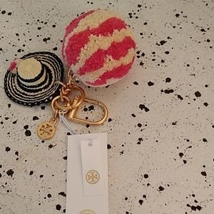Tory Burch Key Chain/Bag Charm